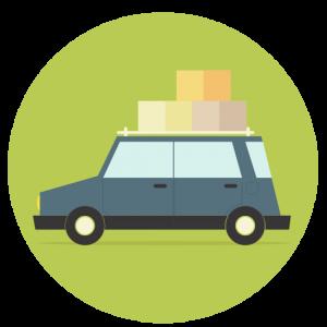voiture déménagement