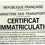 certificat immatriculation détails