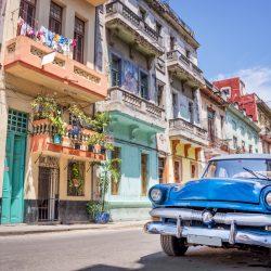 voiture ancienne de collection à Cuba