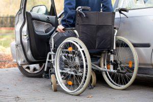 chauffeur handicapé