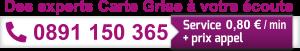 numéro de téléphone expert carte grise