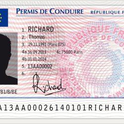 le nouveau permis de conduire en France