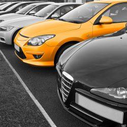 parc automobile voitures de commerciaux