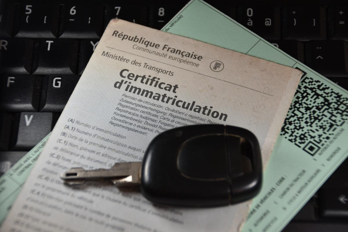 certificat d'immatriculation conforme