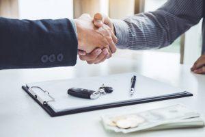 document déclaration achat pour la vente voiture