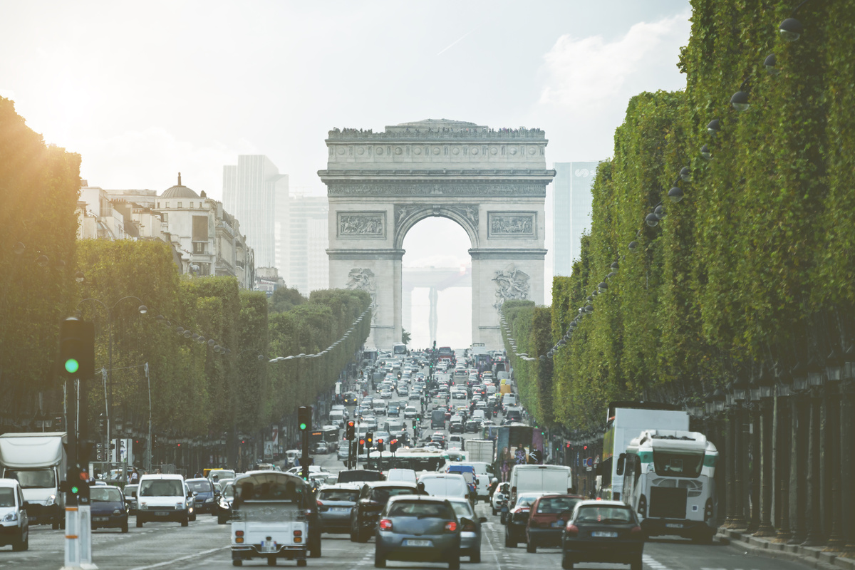 Grand paris circulation véhicules polluants