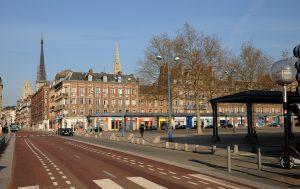 Rouen place st Marc création ZFE